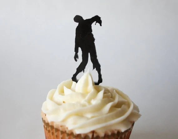 Zombie Cupcake Topper