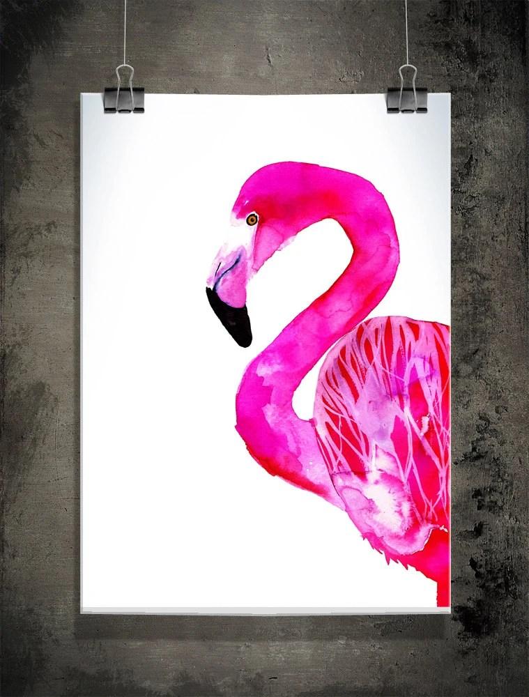 Flamingo,  30x42 cm (12x16,5 inch)
