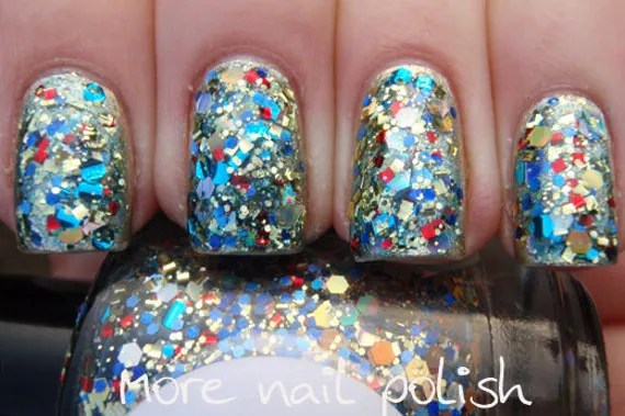 Treasure Chest Hand made custom nail polish - GlimmerbyErica