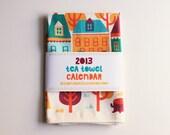 2013 Tea Towel Calendar - bangbangyourethread