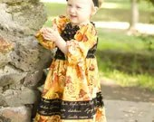 Toddler Dress, Long Sleeve, 2PC Set Fall/Winter 2012 - BebeSophie