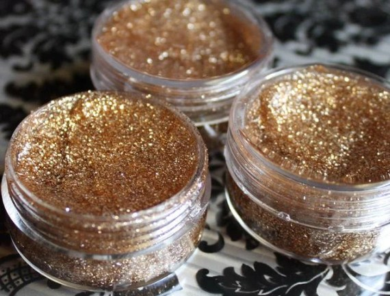Gold Glitter Hair Gel, Temporary Hair Accessory, Halloween Costume - ShareeBoutique