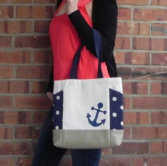 nautical handbag