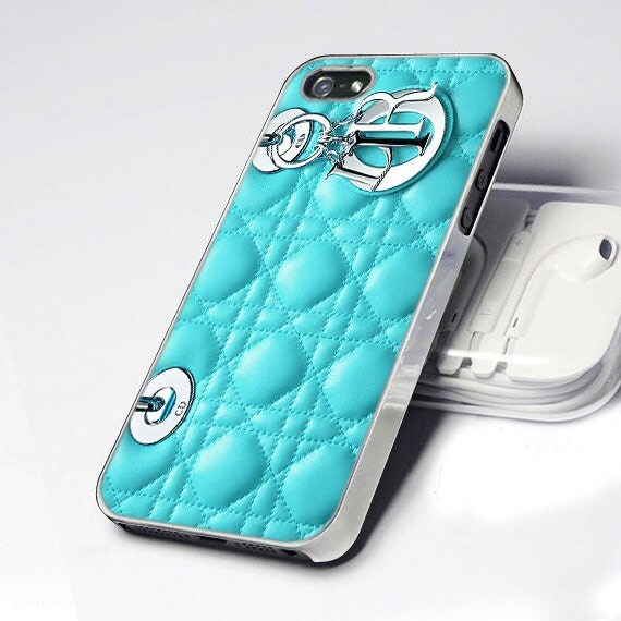 CDP 0080 Most Wanted Dior Bag Blue Tiffany Pattern -  Design - iPhone 4 / 4S / 5 - Black / White / CleaWar
