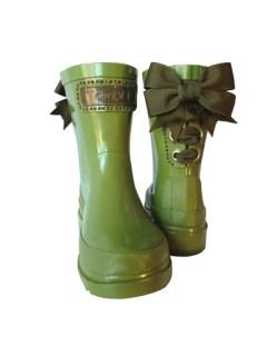 Timber & Tamber Rain Boots Rubber Gumboots Green