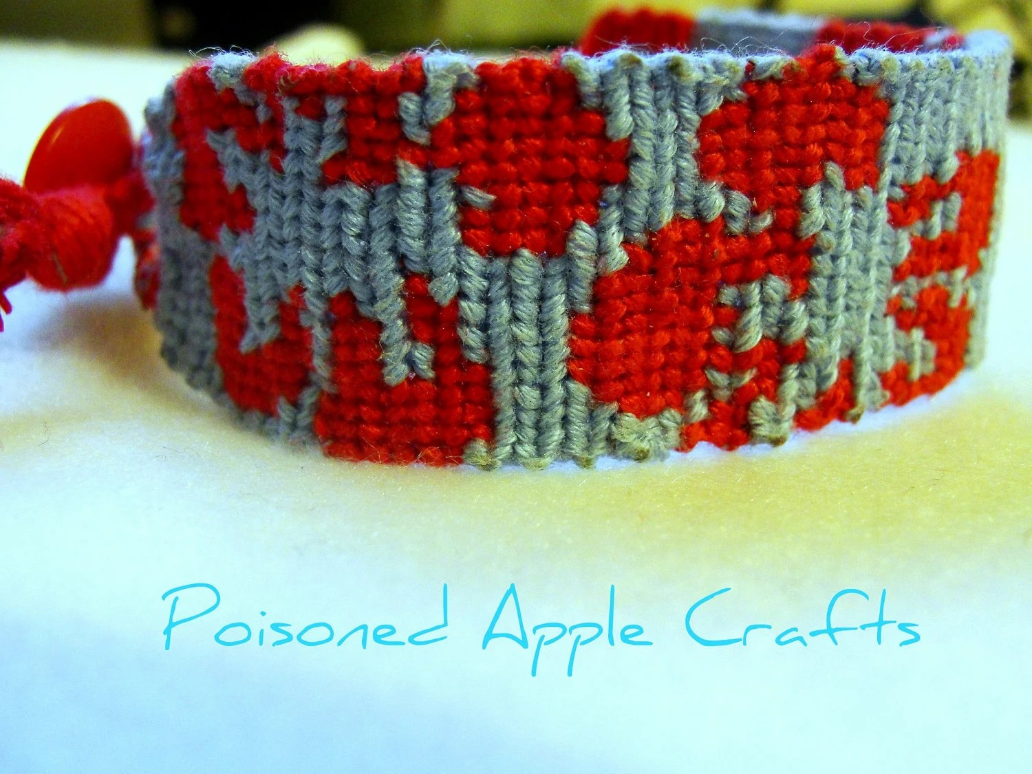 Hawaiian Flowers Friendship Bracelet MADE TO ORDER