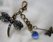 Blue-ti-ful Dragonfly Dangle