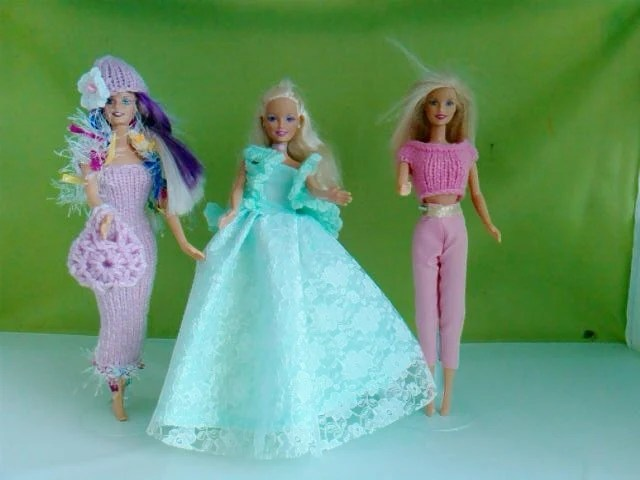 New Handmade clothes for barbie Set of 3 outfits  M138 x 44