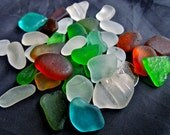 Sea Glass or Beach Glass of HAWAII   SALE  22 dollars for jewelry