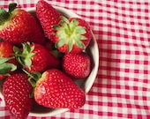 Strawberry Photography Fruit Kitchen Home Decor Red Picnic BOGO 10x8 Print A Taste Of Summer... - VictoriaEnglishCharm