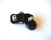 black Cars Baby Booties, baby slippers, newborn shoes, crochet baby new born booties 0 6 month baby, crochet baby shoes, baby socks