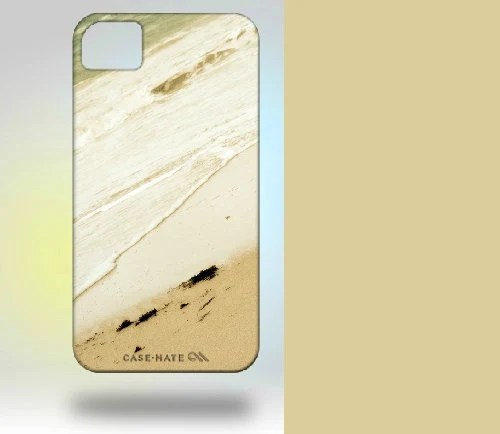 iPhone 4 Case: Puerto Rico Sandy Beach blue gray - Gallery32Photography