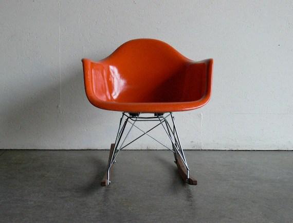 Eames for Herman Miller Fiberglass Armchair Rocker