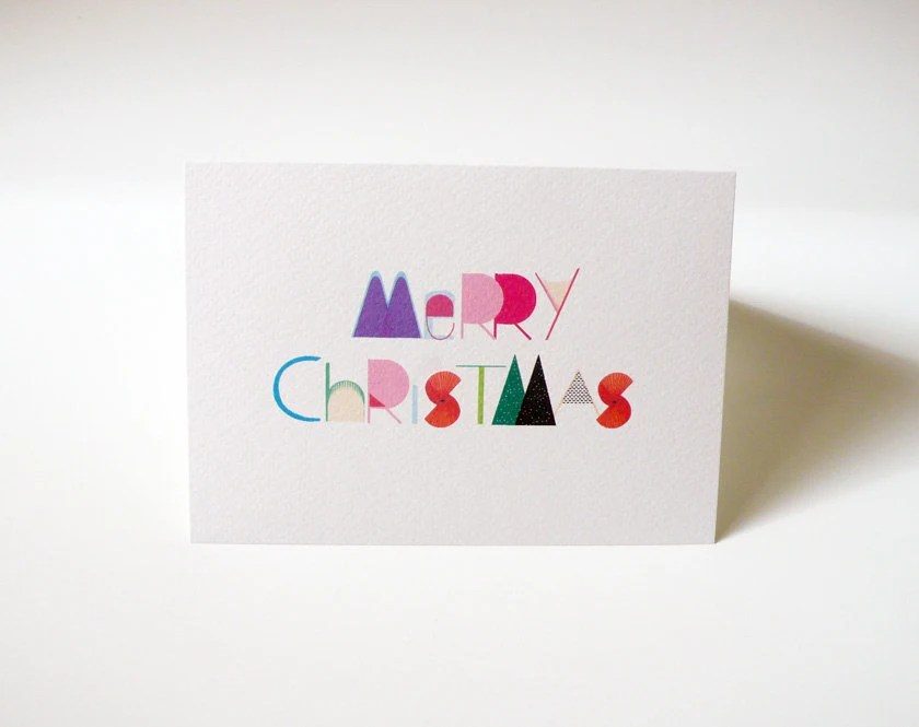Merry Christmas printable card