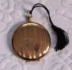 Vintage  Pocket Watch POWDER COMPACT by Ritz 1960s