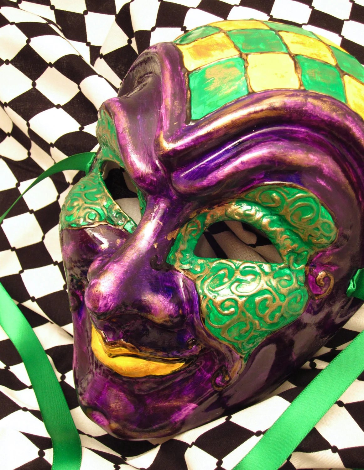 The Life Mask for Mardi Gras/Costume/Masquerade/Cosplay