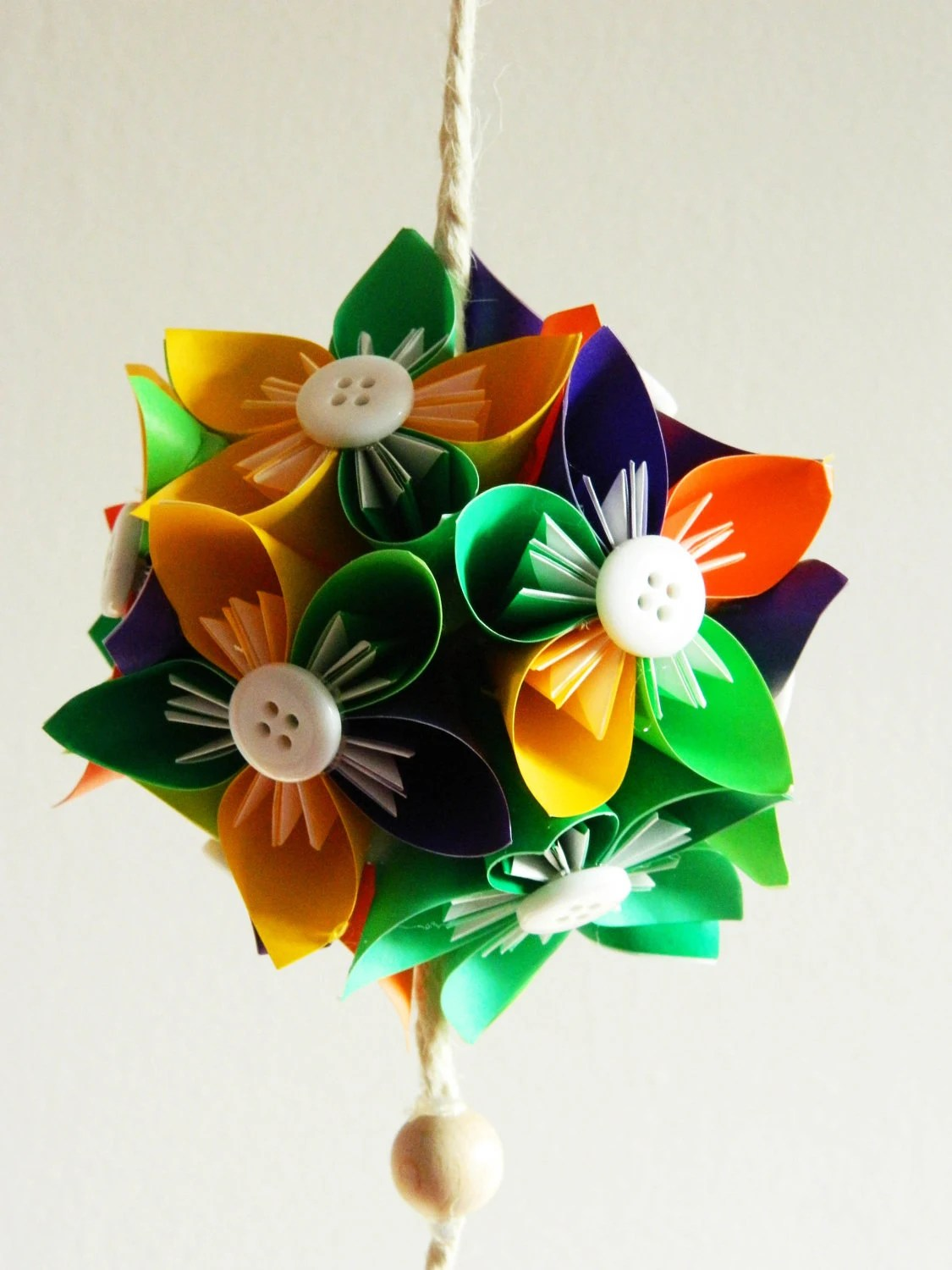 Kusudama little ball MULTICOLOURS