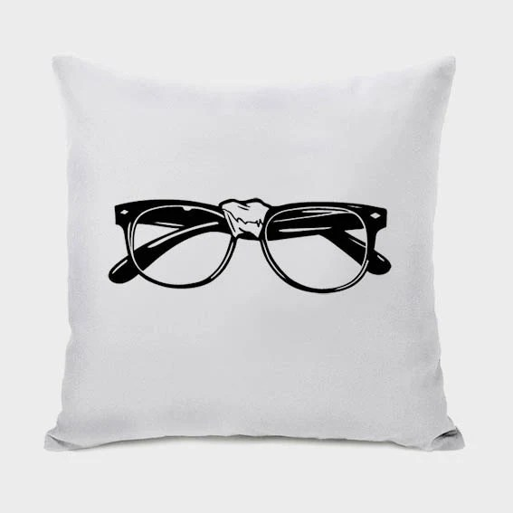 Nerd Glasses Pillow