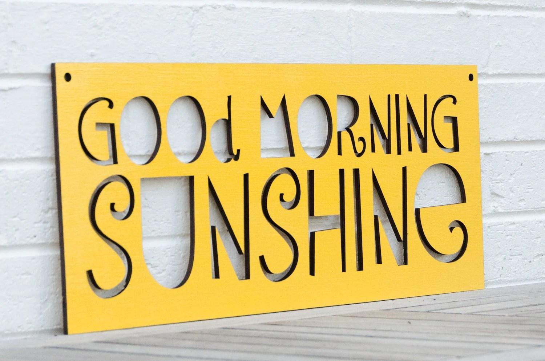 Good Morning Sunshine - spunkyfluff