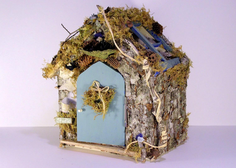 Woodland Fairy House Art Studio
