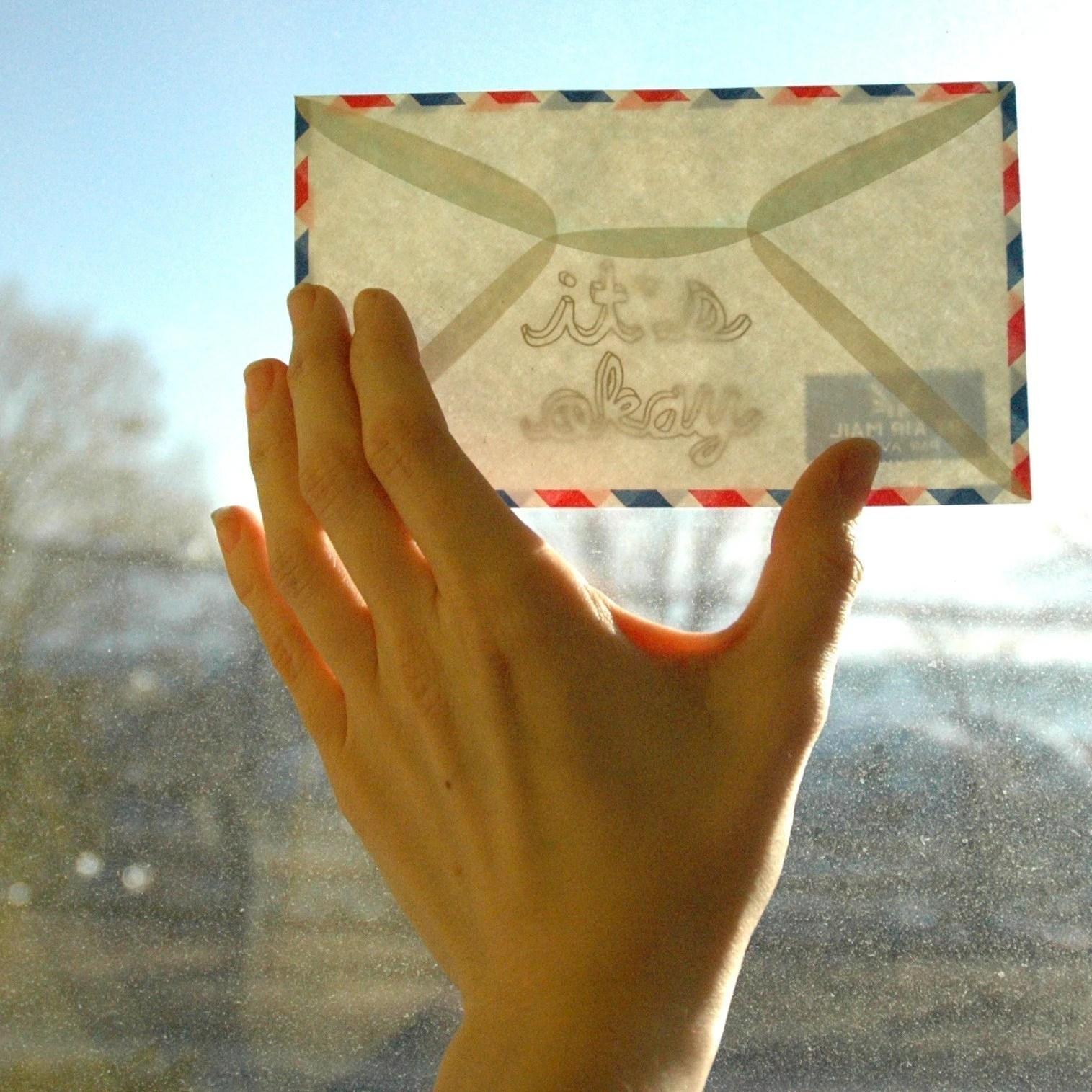 Secret Message Envelope