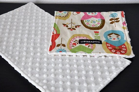 Sirbubbdoo baby burp cloths