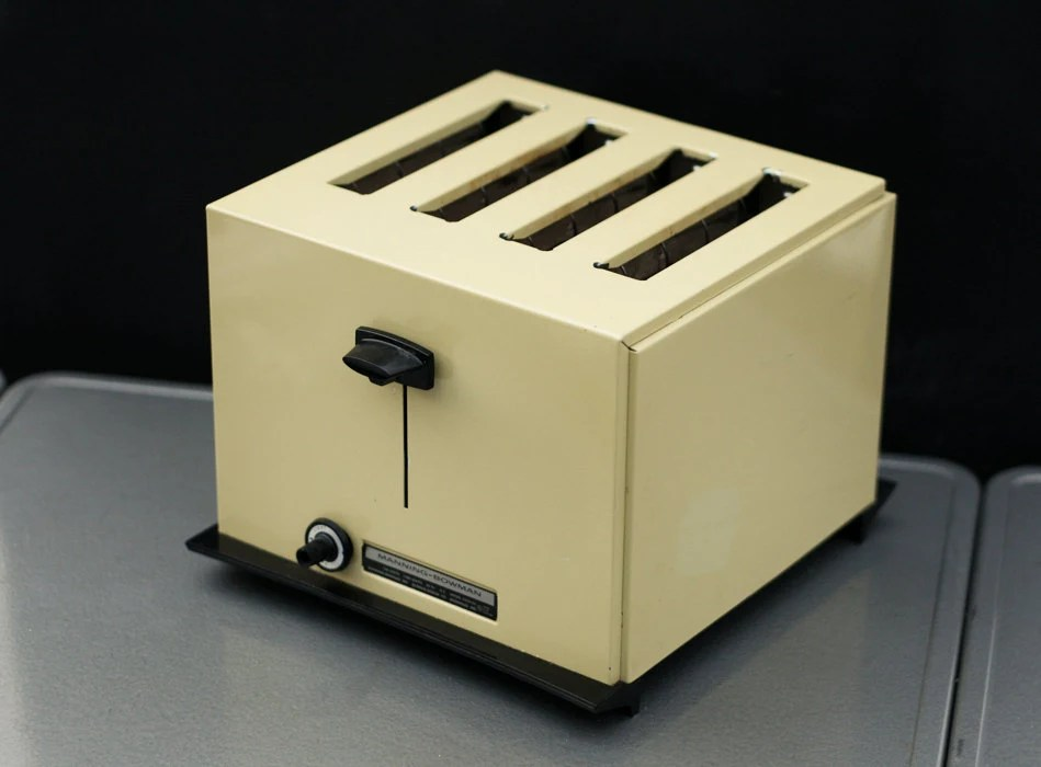 1960s Toaster With Bread ~ Vintage toasters utilitarian beauties cassie s tale