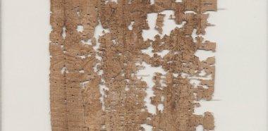 Foto: Descifran el contenido de una carta que escribió un soldado egipcio hace 1.800 años (MAGE COURTESY BANCROFT LIBRARY AT THE UNIVERSITY O)