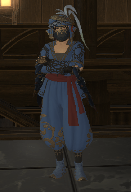 Lilisette Butterfly Blog Entry Blue Mage Appearance In