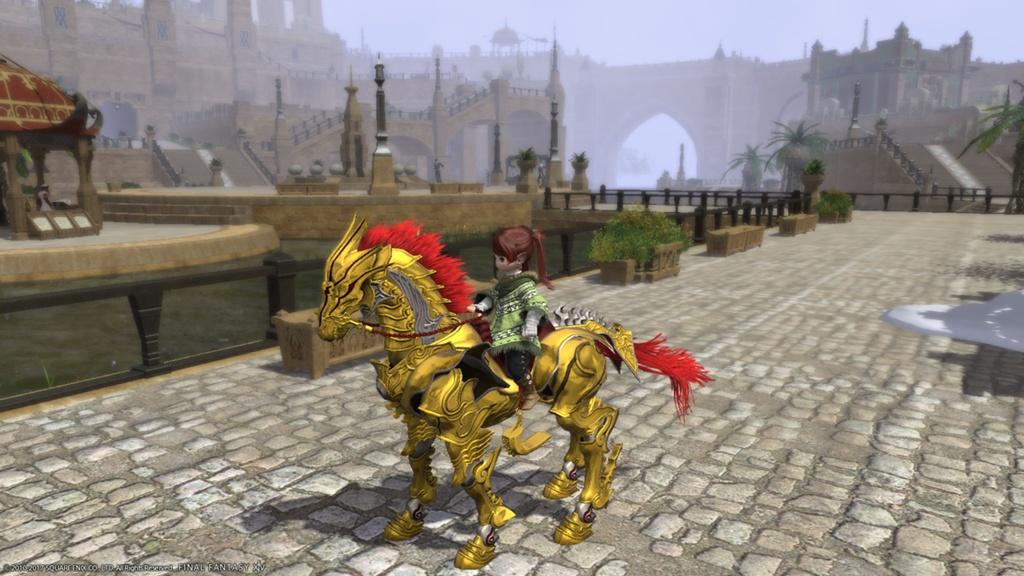 Lele Santoix Blog Entry Garo Mounts Lalafell Size FINAL FANTASY XIV The Lodestone