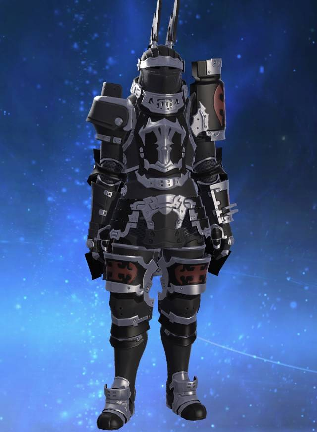 Eorzea Database Heavy Darklight Armor FINAL FANTASY XIV