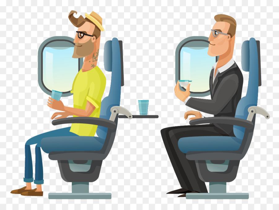 avion passager hotesse de lair png