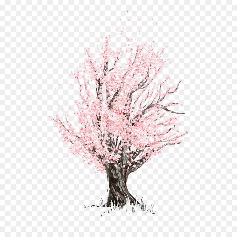 Fleur De Cerisier Dessin Fleur Png Fleur De Cerisier Dessin Fleur Transparentes Png Gratuit