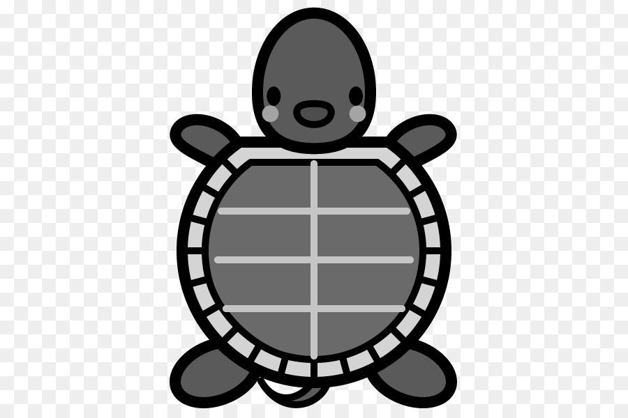 peinture monochrome png tortue noir