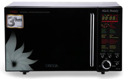 onida 23 l air fryer convection microwave oven mo23cjs11bn black