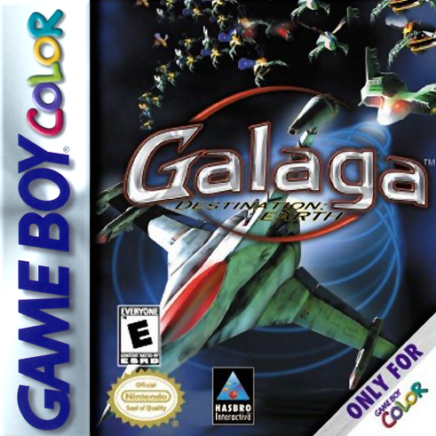 Image result for galaga destination earth gameboy