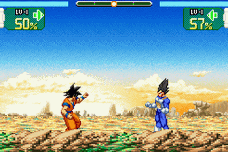 Play Dragon Ball Z   Supersonic Warriors Nintendo Game Boy Advance     Dragon Ball Z   Supersonic Warriors ingame screenshot