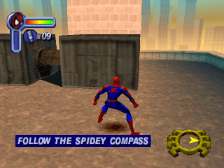 Play Spider Man Sony PlayStation online   Play retro games online at     Spider Man ingame screenshot