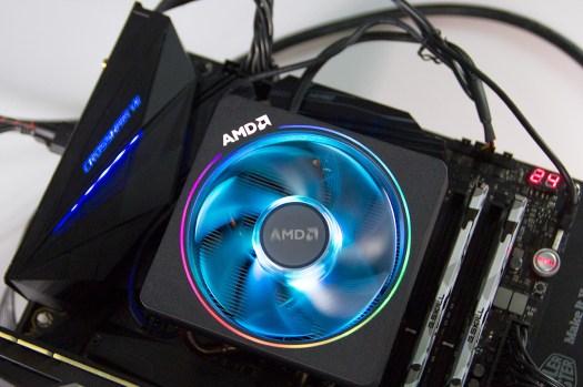 Cooler AMD Ryzen 7 2700X