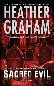 Sacred Evil by Heather Graham: Book Cover