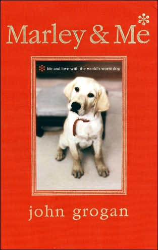 book cover for Marley & Me