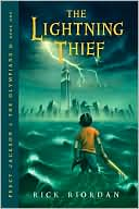 The Lightning Thief (Percy Jackson and the Olympians Series #1) by Rick Riordan: Book Cover