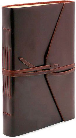 Brown Bombay Tie Journal Large 6x8.5