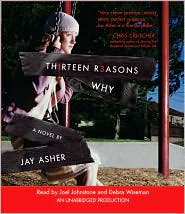 Thirteen Reasons Why by Jay Asher: CD Audiobook Cover