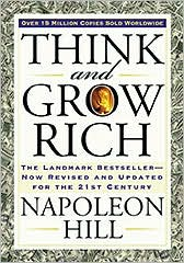 Think and Grow Rich by Napoleon Hill: Book Cover