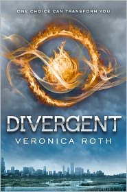Divergent by Veronica Roth: Book Cover