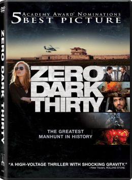 DVD cover for Zero Dark Thirty