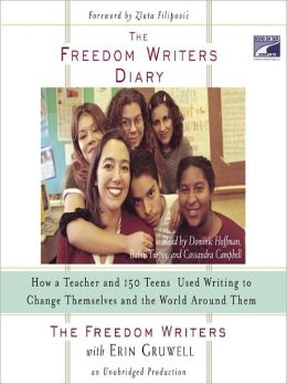The Freedom Writers Diary book, teens who change the world