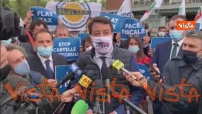 "Death Jole Santelli, Salvini: ""It's time for prayer.  Nobody face looting"