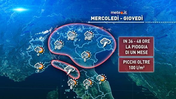 Meteo Italia. Da venerdì nuovo e sensibile calo delle temperature   NEWS METEO.IT